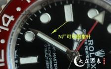 劳力士改装三件套之N厂迪通拿顶级代用指针评测