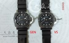 VS厂沛纳海手表对比正品有哪些破绽?
