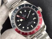 zf厂帝舵碧湾红蓝圈手表对比正品评测