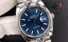 N厂劳力士日志蓝盘126334复刻表-「最好的蓝盘日志41mm复刻表」