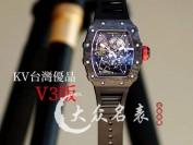 KV厂理查德米勒RM035-01腕表深度评测碳纤维