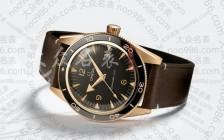 什么?欧米茄也推出青铜海马腕表