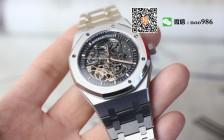 镂空表的赏心悦目之作:JF厂AP15407ST皇家橡树手表