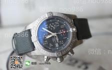 轻量化路线:GF百年灵复仇者系列E1338310钛壳计时腕表