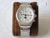 GS厂浪琴名匠月相八针手表真假对比评测