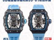 JB厂升级版理查德米勒RM53-01原价超过一百万欧元的复刻版介绍