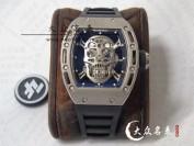ZF工厂一比一复刻RM052里查德米尔骷颅头腕表介绍